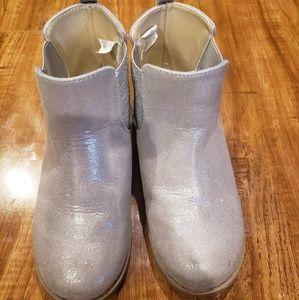 VGUC Gymboree silver boots